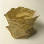 Louise Shaw 'Made Tender' 2019 -paper bag and calico